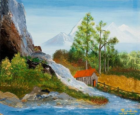 mountainous landscape by frank sinatra
