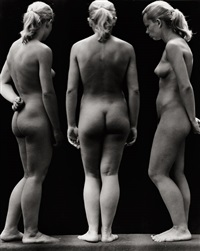 female nudes (negative montage) by jean-marie auradon