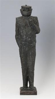 stehende figur by heinrich kirchner