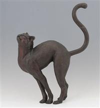 buckelnde katze by henry mitchell