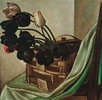 tulpen im korb by albert locca
