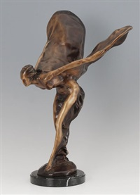 flying lady (the spirit of ecstasy) by charles sykes