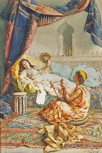 in the harem by amedeo simonetti