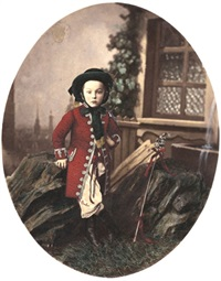 portrait of a german noble boy by otto reitmayer