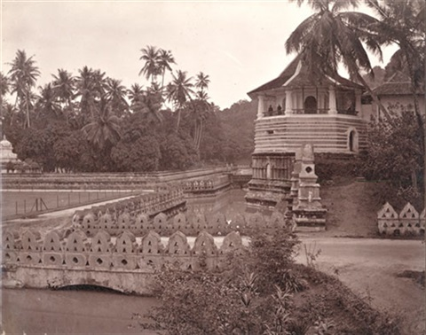 landscapes, towns, villages and temples in kandy, ceylon (9 works) by charles t. scowen (scowen & co.)