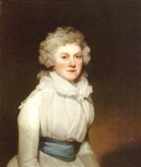 a portrait of mrs. joseph murden by george clint