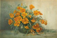 still life with poppies by helen whitney kelley