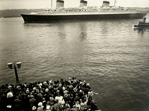 the ss normandie by berenice abbott