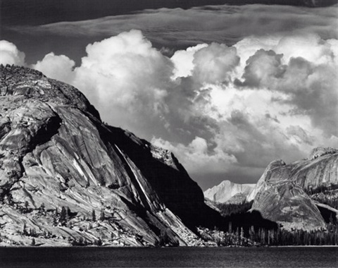 lake tenaya, yosemite national park by ansel adams