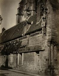 cathedrale de laon (+ vendome maison abbatiale; 2 works) by charles (ph) lenormand