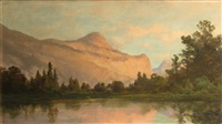 entrance to yosemite valley by carl von perbandt