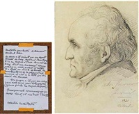 portrait de charles fourier by baudet dulary