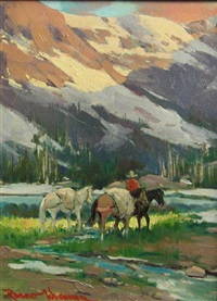 crossing the stream by robert wagoner