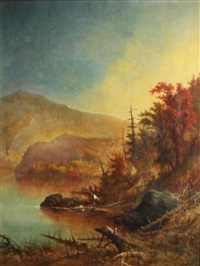 lake placid, essex county, new york by augustus rockwell