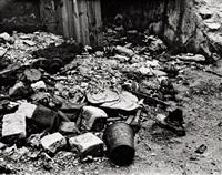 street rubbish, paris by ilse bing