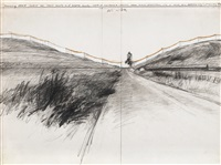 running fence (project for marin county and sonoma county) by christo and jeanne-claude
