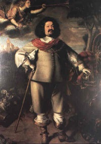 portrait of general octavio piccolomimi by anselmus van hullen
