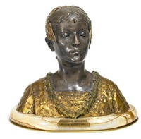 bust: grande dame patricienne by roland colombo-grange