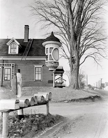 house, belfast, along route 1 by berenice abbott