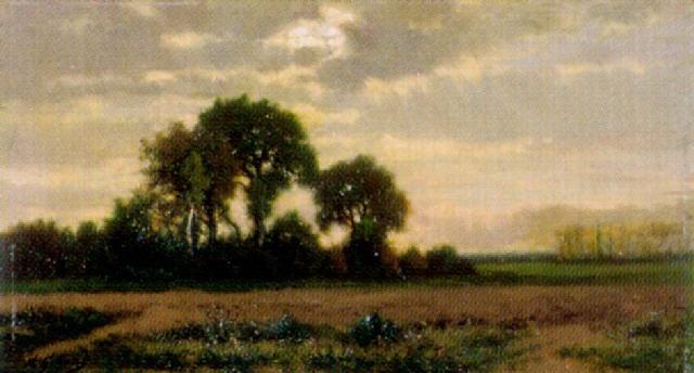 landschaft bei gewitterstimmung by alexandre charles joseph gittard