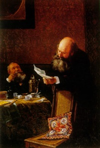 the letter by martin (ludwig m.) wilberg