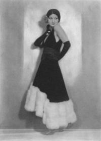 the actress/dancer la jana (henriette hiebel) by martin badekow