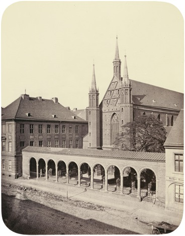 kloster kirche berlin by leopold ahrendts