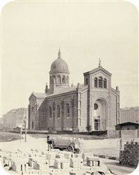 st. michael's church (+ friedrichwerder'sche church, berlin; pair) by leopold ahrendts