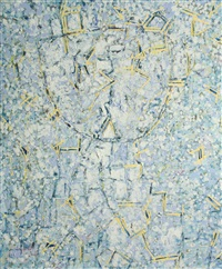 portrait space by lee mullican