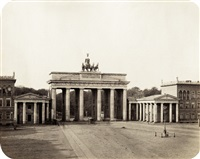 brandenburg gate (+ 2 others; set of 3) by leopold ahrendts