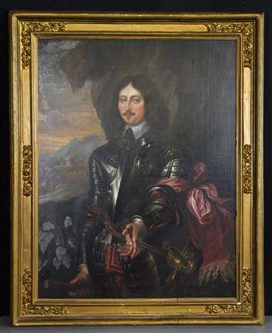 portrait of edward somerset by sir anthony van dyck