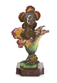 femme fleur by henri godet