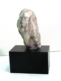 the dream (+ untitled - female head, lrgr; 2 works) by bernard simon