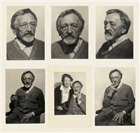 selected portraits of christian rohlfs (1849 - 1938) (10 works) by hugo erfurth