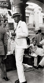citizen in downtown havana by walker evans