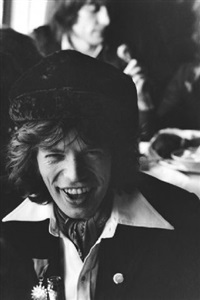 mick jagger in hamburg by axel benzmann