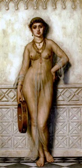 an egyptian girl by arthur hill