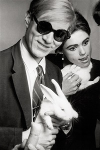andy warhol and edie sedgwick, rue princesse by jean jacques bugat