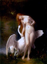 leda and the swan by robert tony fleury