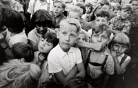 young spectators, east berlin by arno fischer