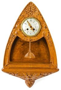 grapevine bracket clock by georges de bardyère