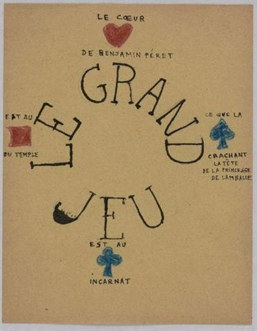 le grand jeu by andré breton