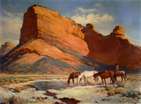 red mountain, near sedona by gray phineas bartlett