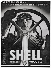 advertisement for shell oil by rene ahrle