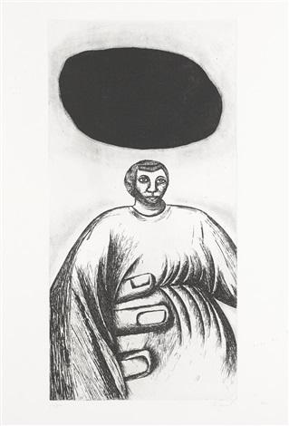 la mano di pietra the hand of stone by enzo cucchi