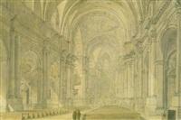 die theatiner hofkirche zu münchen by simon quaglio