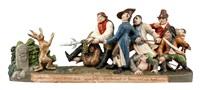 die sieben schwaben im kampf mit einem hasen by anton sohn