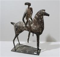 reiter und pferd by robert lienhard