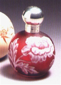 perfume bottle by thomas webb