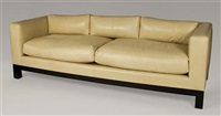 upholstered sofa by christian liagre